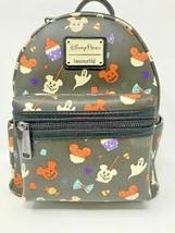 Disney Parks Mickey Mouse Halloween Treats Snacks Mini Backpack Loungefly 2020  - $88.10
