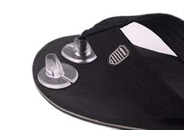 5 Pair Silicone Thong Sandal Toe Protectors-Sandal Flip-Flop Gel Toe Guards Cush image 2