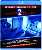 Paranormal Activity 2 (Unrated Director's Cut Blu-ray)