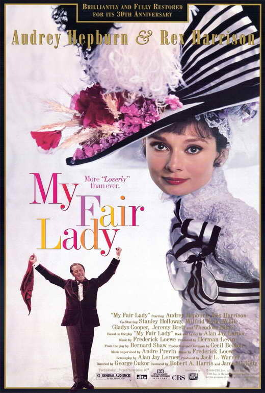 My fair lady 50th poster