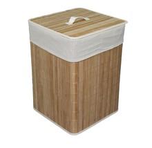 "Folding Laundry Basket Cloth 19.75"" Square Bath... - $39.59"