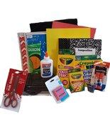 Back to School Essentials Scissors Pencils Notebooks Supplies Kit Bundle... - $56.60