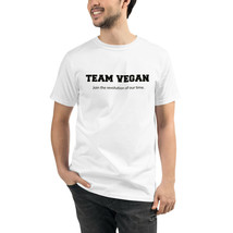 Unisex Team Vegan Organic T-Shirt Eco Friendly Sustainable Men Women - $31.68+