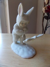 "Dept. 56 1995 Snowbunnies ""Catching Horseflies"" Figurine  - $25.00"
