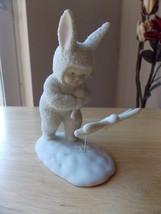 """Dept. 56 1995 Snowbunnies """"Catching Horseflies"""" Figurine  - $25.00"""