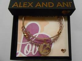 Alex and Ani Art Infusion Love Set Bangle Bracelet, Shiny Rose NWTBC - $51.47