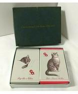 1946 Vtg Chesapeake Ohio Railway Chessie & Peake Cat Playing Cards 2 Decks - $37.57