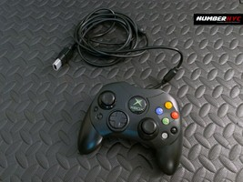 Original Xbox Official 9ft Wired S Controller Gamepad Genuine Microsoft Black - $29.69