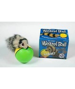 ORIGINAL WEAZEL WEASEL BALL CHASES JUMPS MOTOR BALL KIDS DOGS CAT 100% A... - $9.89