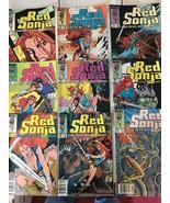 Red Sonja #5 6 7 8 9 10 11 12 13 Marvel Comic Book Run / Lot VF+/NM Cond... - $30.02