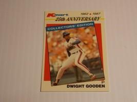 1987 Topps Kmart 25th Anniversary Dwight Gooden #26 New York Mets - $1.50