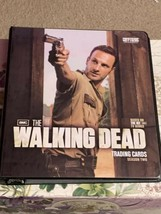 Walking Dead Season 2 Mini Master Set Binder Base Chase Wardrobe - $188.09