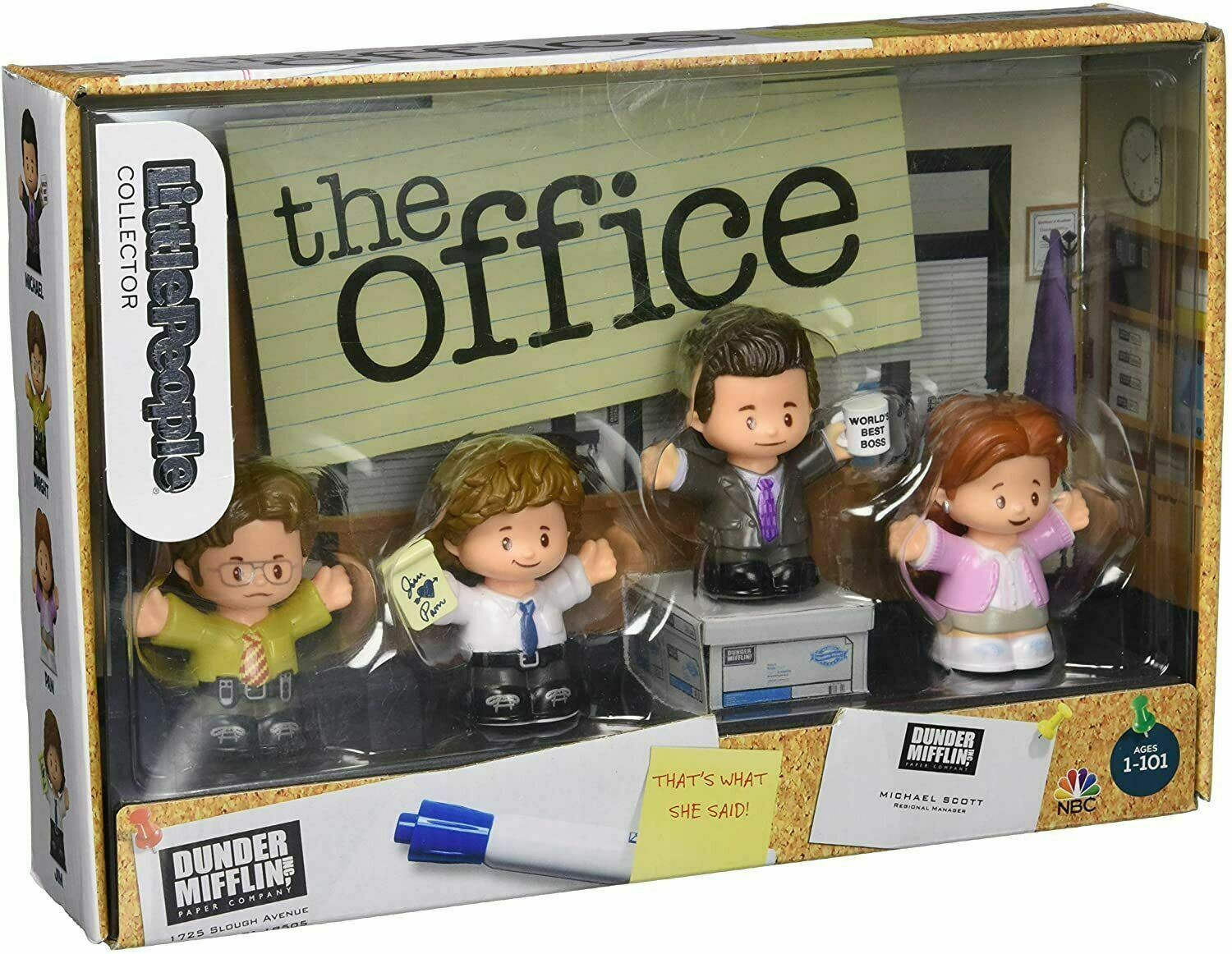 Fisher-Price Little People Collector The Office - $49.01