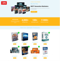 Complete Wordpress Digital Product Store With 100 Added Master Resell ri... - $9.99