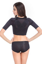 Women Arm Bust Shapewear Correct Back Posture Support Chest Slimming Arm... - $15.99