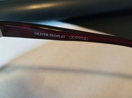 OLIVER PEOPLES Candice SI Sunglasses Glossy Transparent Dark Burgundy Red ..NEW image 7