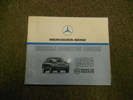 1986 MERCEDES BENZ Technician Recognition Program Book of Awards Manual ... - $9.67
