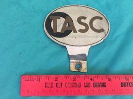 Vintage OTASC TASC License Plate Badge for Mounting Antique Cars - $8.04