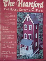 """Doll House Pattern """"The Heartford"""" Construction Plans - $2.99"""
