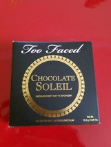 Too Faced Chocolate Soleil Bronzer - Brand New in Box - $22.95