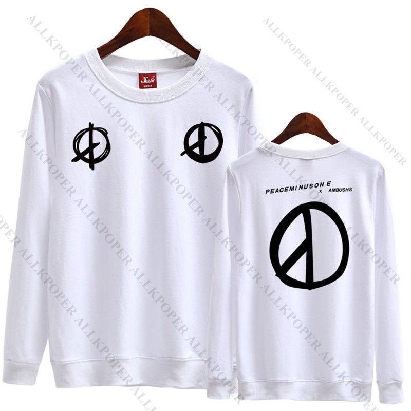 KPOP Bigbang G-Dragon Sweater Made Full Hoodie Unisex Sweatershirt Pullover