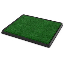 Artificial Grass Bathroom Mat for Dogs, Indoor and Outdoor, 3 Piece Tray - $29.99