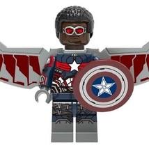 Falcon Marvel Avengers Super Hero Lego Minifigure Building Toys Mini Fig... - $2.69
