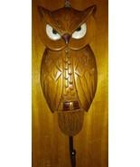 """Vintage Owl Key Holder Hook Wall Plaque 10"""" - $9.89"""