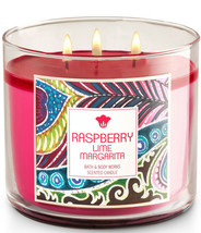 Bath & Body Works Raspberry Lime Margarita Three Wick 14.5 Ounces Scented Candle - $23.95