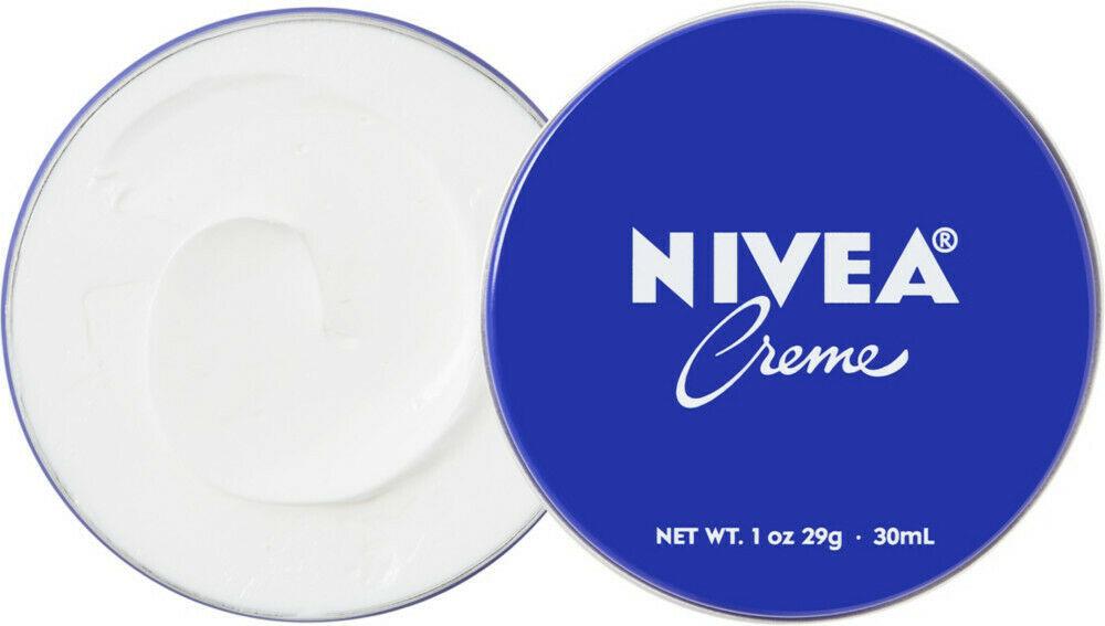 NIVEA CREME Skin Hand Moisturizing Cream in Metal Tin 1 Oz , 30 mL Moisturizer image 2