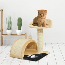 Beige Cat Tree Scratching Post New  - £20.75 GBP