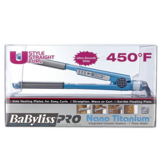 "babyliss pro nano titanium 1"" u styler"