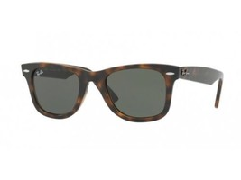 New Ray Ban Wayfarer RB4340 710 50MM Tortoise / Green 50mm Sunglasses - $69.29