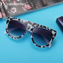 new square sunglasses ladies brand designer retro marble color fashion sunglasse image 2