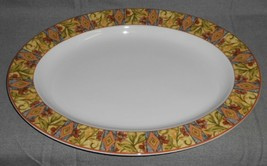 "1996 Royal Doulton CINNABAR PATTERN Oval 16"" Large SERVING PLATTER - $69.29"