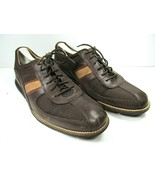Cole Haan Grand o's Mens Brown Leather Sneakers Size US 9.5 M - $28.42