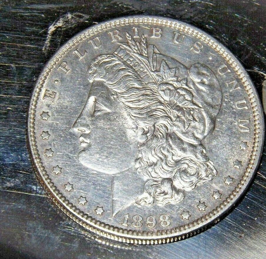 1898 P Morgan Silver Dollar AA19-CND6055