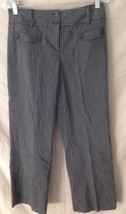 Women's ANN TAYLOR LOFT Stretch Striped Dress Pants Size 2 - $15.84