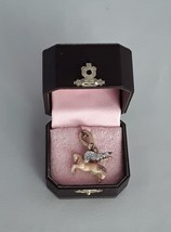 JUICY COUTURE Pegasus Flying Horse Pave Crystal Charm EUC - $56.09