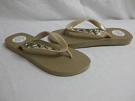 BCBGeneration BCBG Size 6 M Gavin Taupe Flip Flops Sandals New Womens Sh... - $53.91