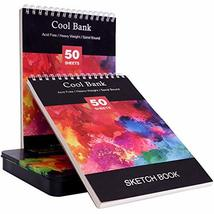 72 Watercolor Pencils Set with 2 x 50 Page Drawing Pad for Kids, Adults and Prof image 3