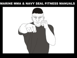 US MARINES MMA & NAVY SEAL FITNESS MANUALS 410pg w Martial Arts Jujitsu ... - $22.99