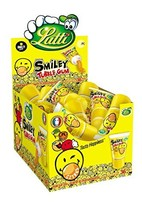 Lutti Smiley Tubble Gum 36 x 35g - Chewing gum paste from the tube with ... - $93.22
