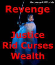 Hex-treem Revenge Justice Protection Rid Curses + Wealth Betweenallworld... - $155.32