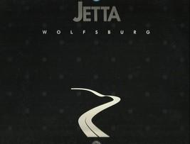 1991 Volkswagen JETTA WOLFSBURG EDITION brochure catalog US VW 91 - $8.00