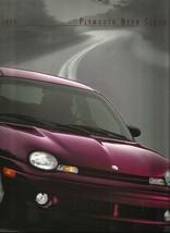 1999 Plymouth NEON SEDAN sales brochure catalog US 99 Expresso - $6.00