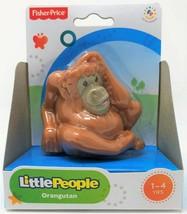 Fisher-Price Little People Orang Utan Tier Zoo Wildleben Safari Abbildung - $12.22