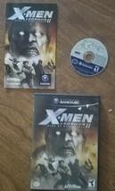 X Men Legends 2 Rise Of Apocalypse Gamecube Game 100% Complete Good Cond... - $18.95