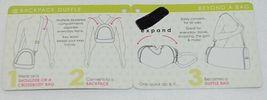 GANZ Brand Beyond A Bag Collection BB215 Lemon Zing Color Backpack Duffle image 9