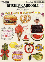 CROSS STITCH KITCHEN CABOODLE MINI SERIES #6 - $3.50